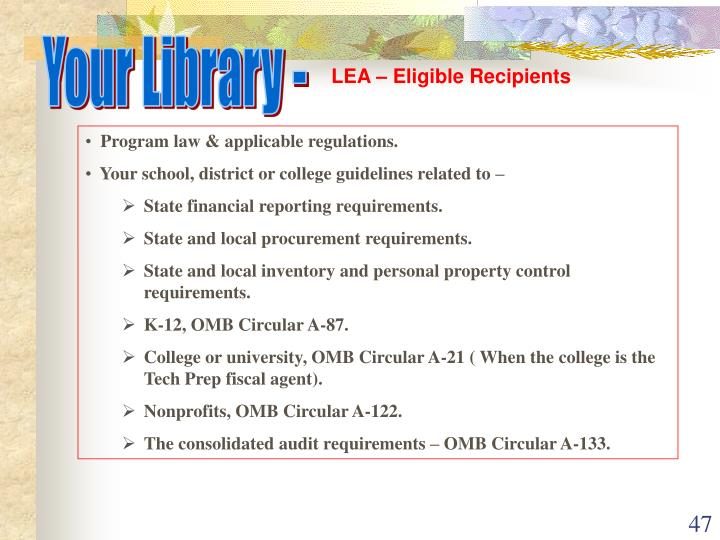 Your Library -