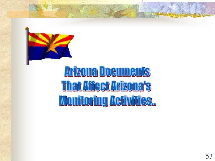 Arizona Documents
