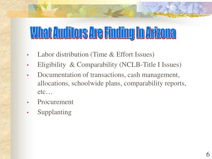 What Auditors Are Finding In Arizona