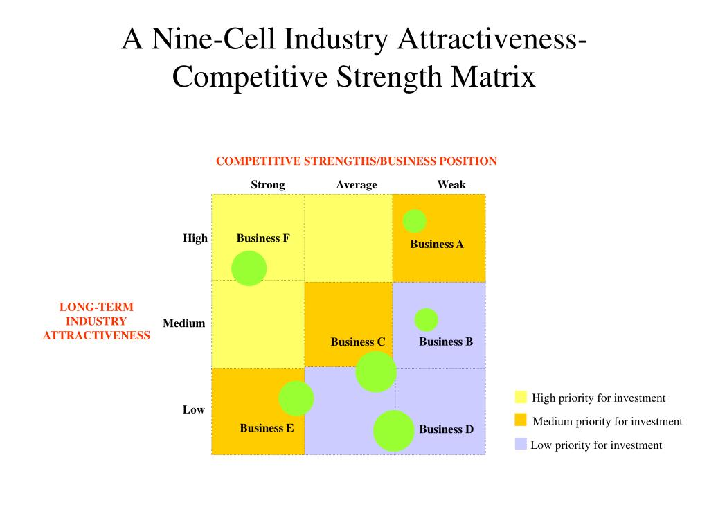 COMPETITIVE STRENGTHS/BUSINESS POSITION