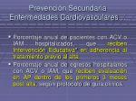 prevenci n secundaria enfermedades cardiovasculares