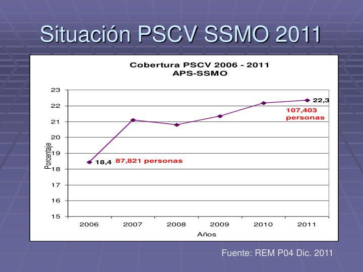 Situación PSCV SSMO 2011