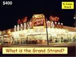 what is the grand strand