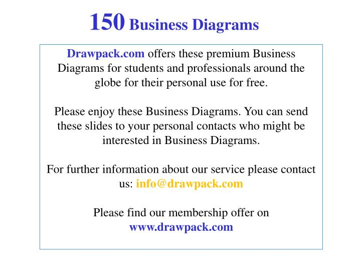 150 business diagrams