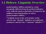 1 1 hebrew linguistic overview36