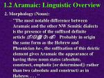1 2 aramaic linguistic overview56