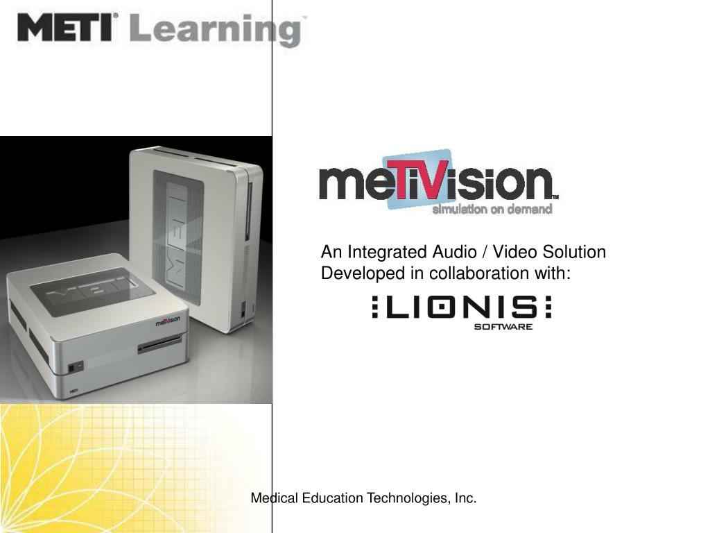 An Integrated Audio / Video Solution