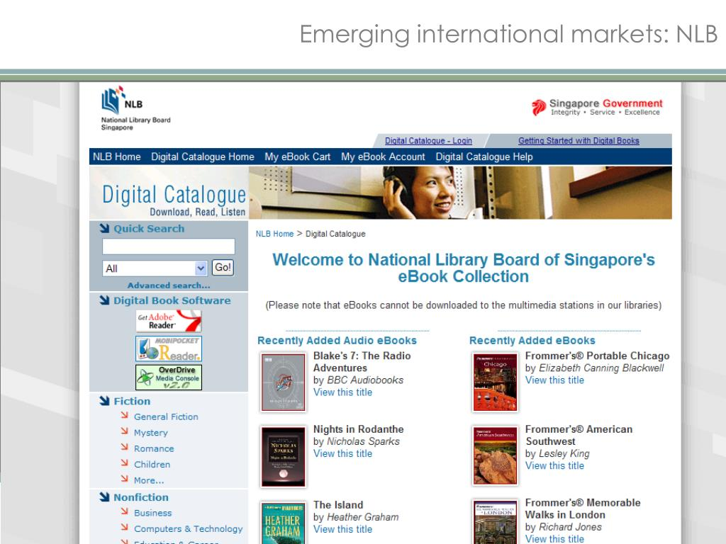Emerging international markets: NLB
