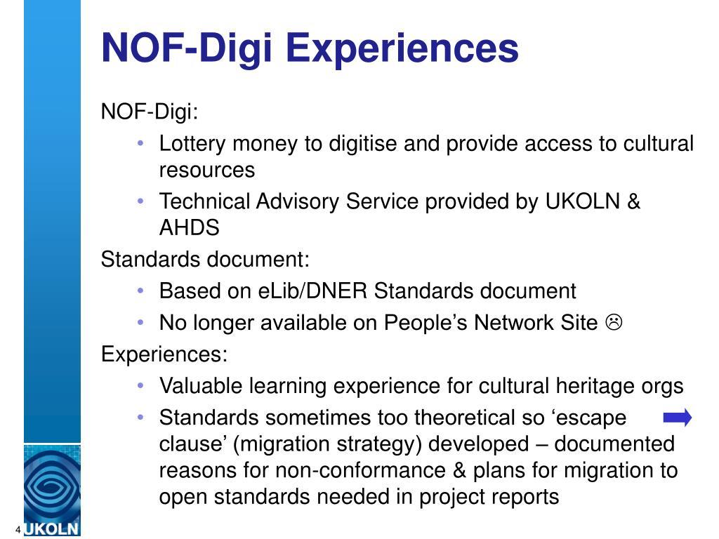 NOF-Digi Experiences
