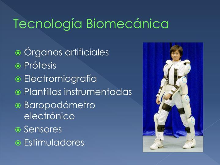 Tecnología Biomecánica