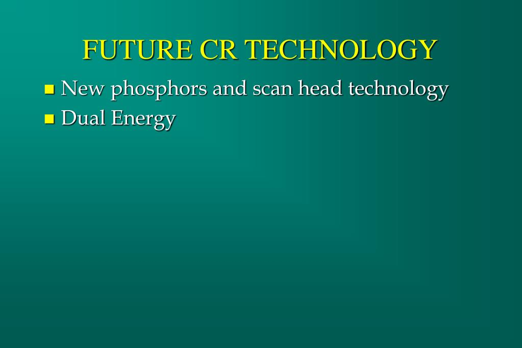 FUTURE CR TECHNOLOGY