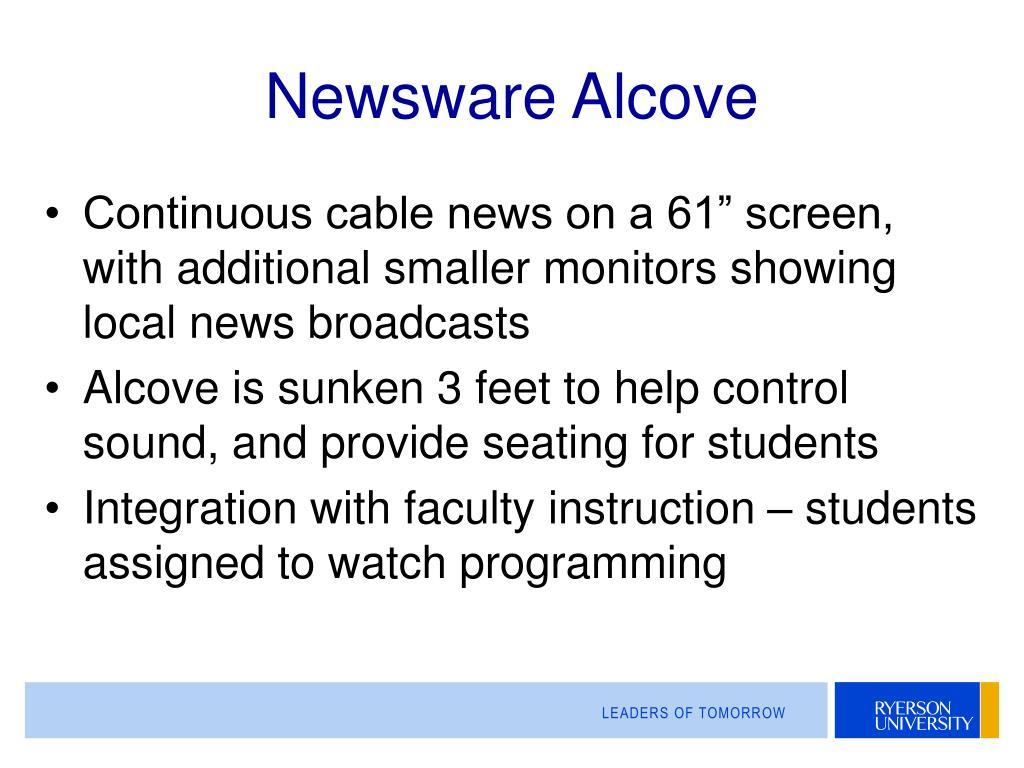 Newsware Alcove