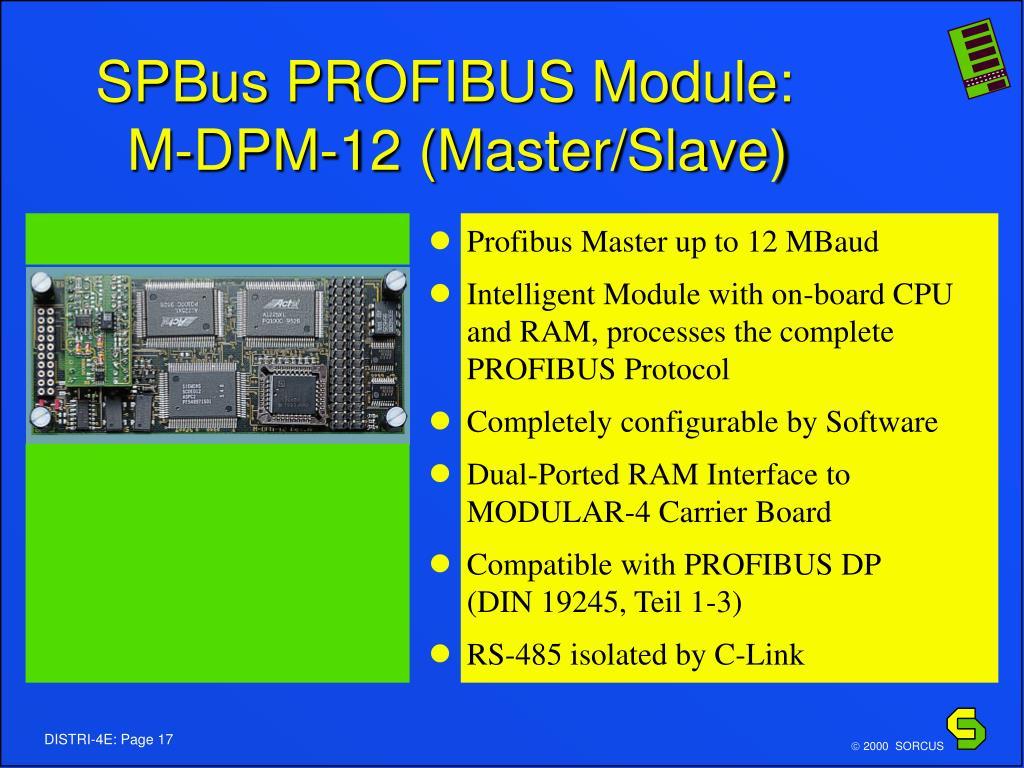 SPBus PROFIBUS Module: