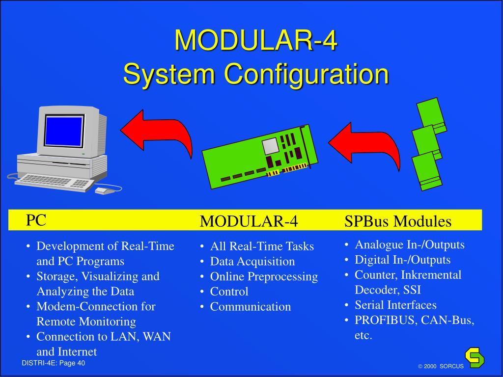 MODULAR-4