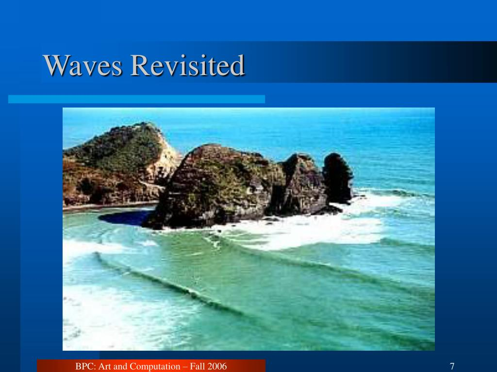 Waves Revisited