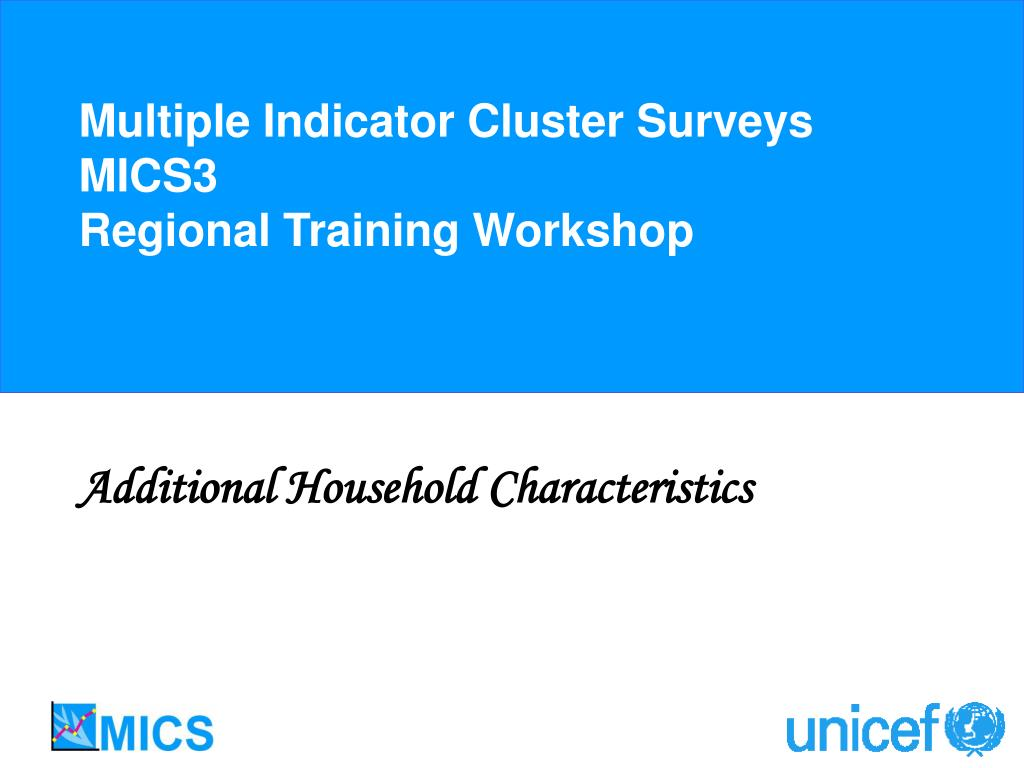 Multiple Indicator Cluster Surveys