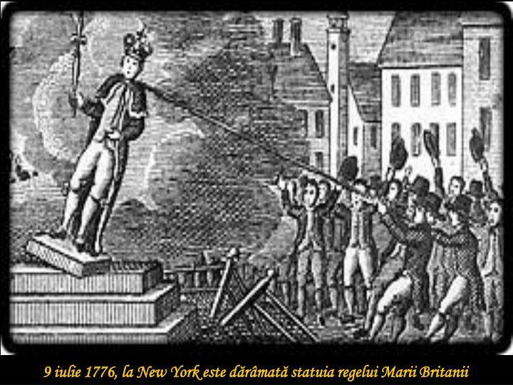 9 iulie 1776, la New York este d