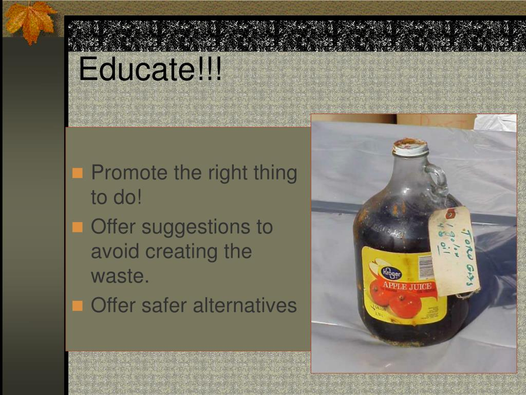 Educate!!!