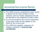 household size income record4
