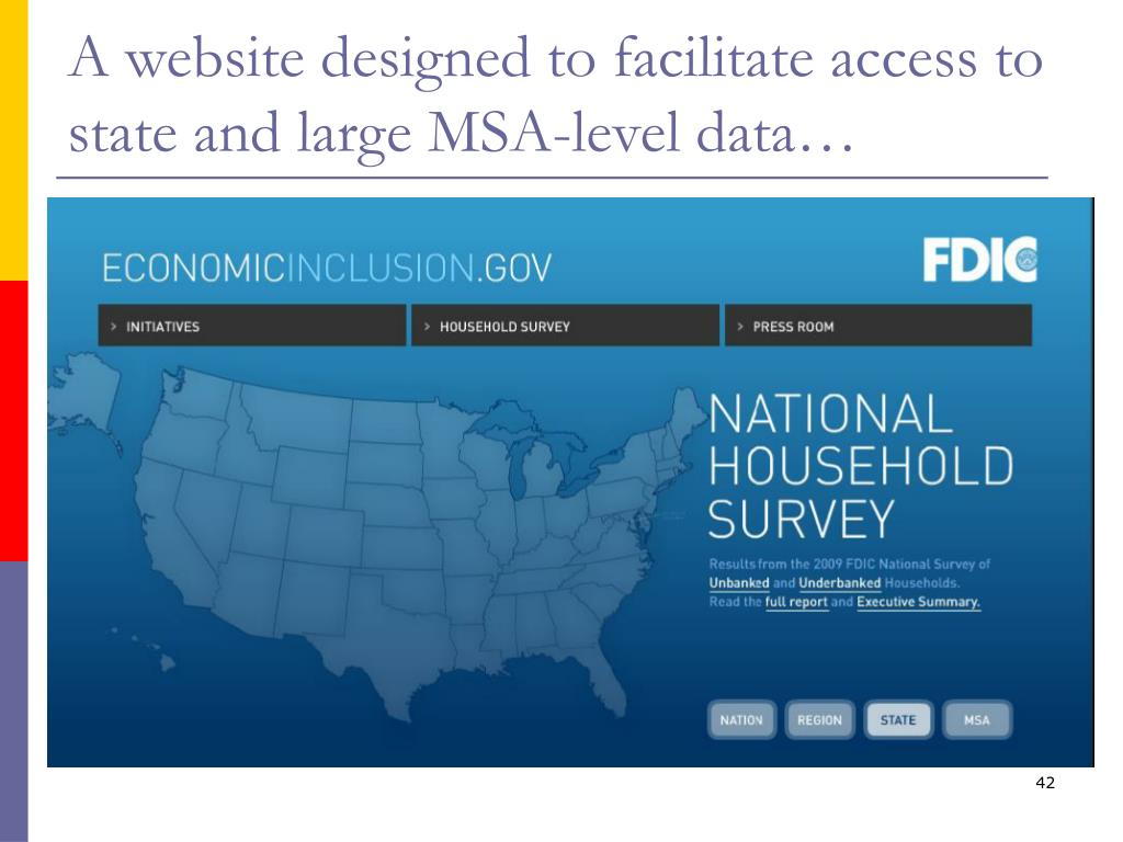 A website designed to facilitate access to state and large MSA-level data…