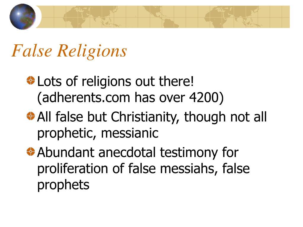 False Religions