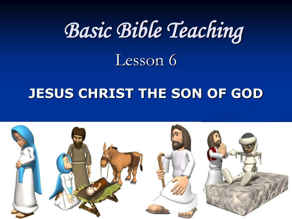 basic bible teaching