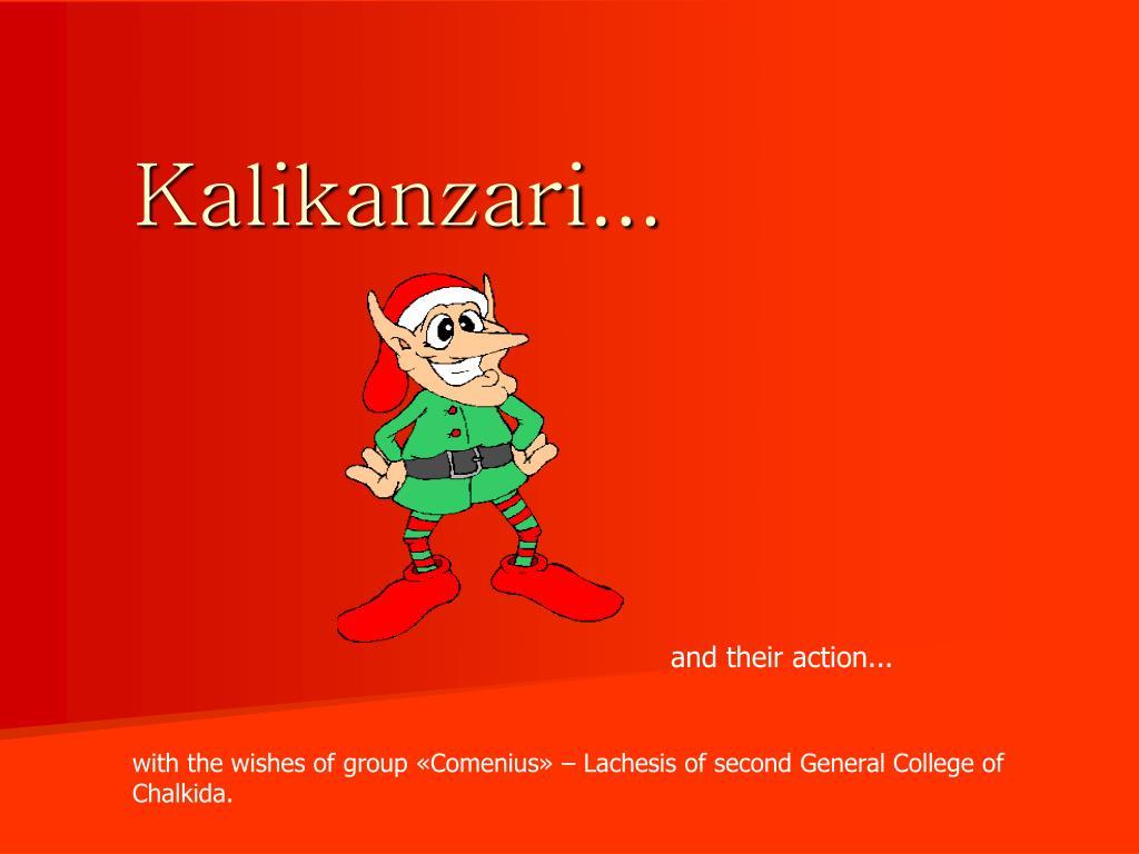 Kalikanzari