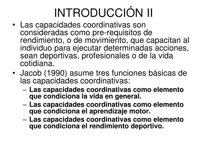 INTRODUCCIÓN II