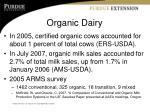 organic dairy