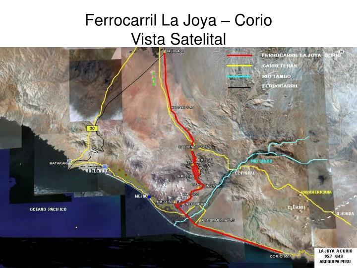 Ferrocarril La Joya – Corio