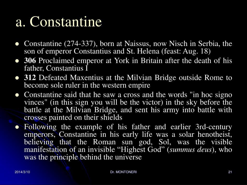 a. Constantine