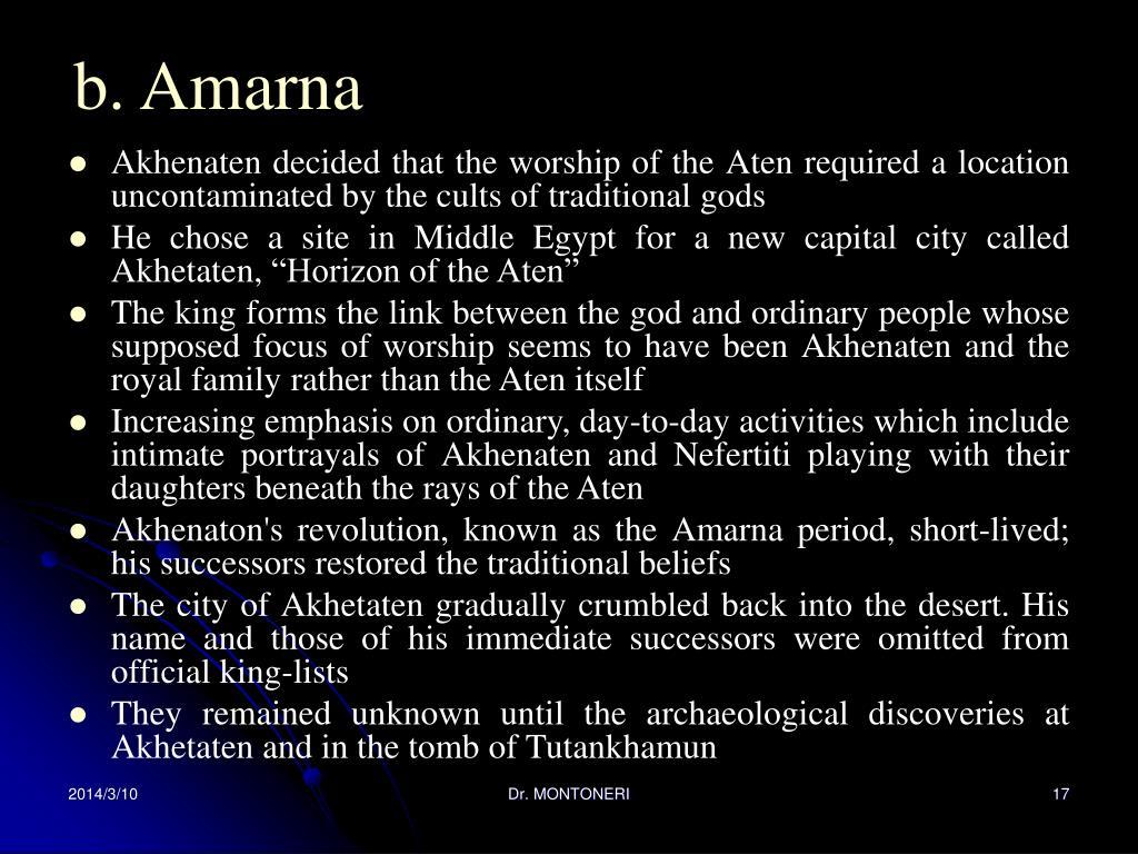 b. Amarna