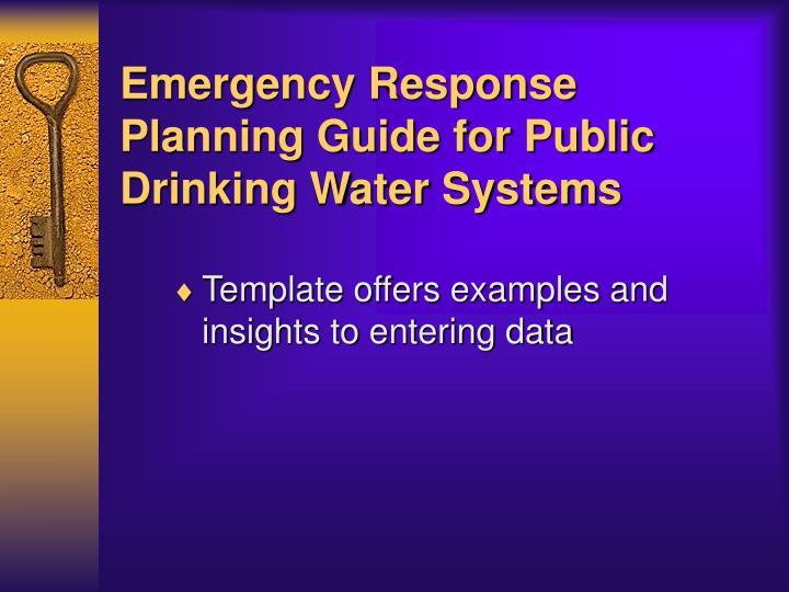disaster assessment and planning guide This regional plan is designed to meet the requirements of sara title iii, the missouri emergency response commission and the kansas commission on emergency planning and response it includes a hazard assessment for the area and outlines hazardous materials response capabilities to address the identified hazards.