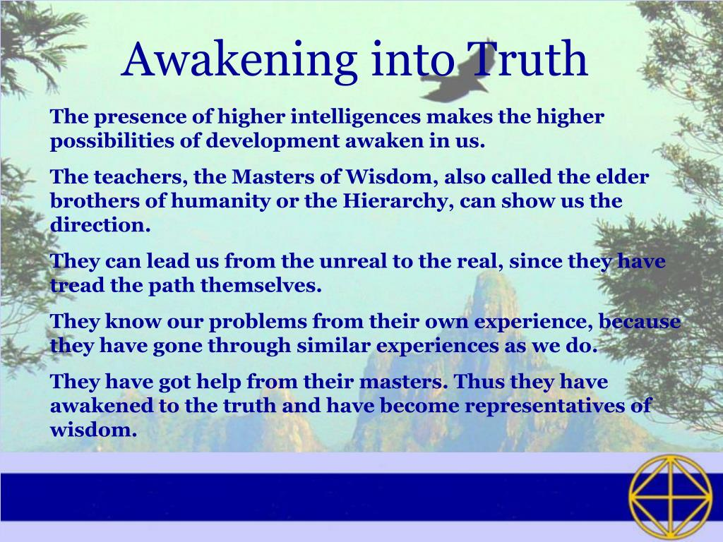Awakening into Truth