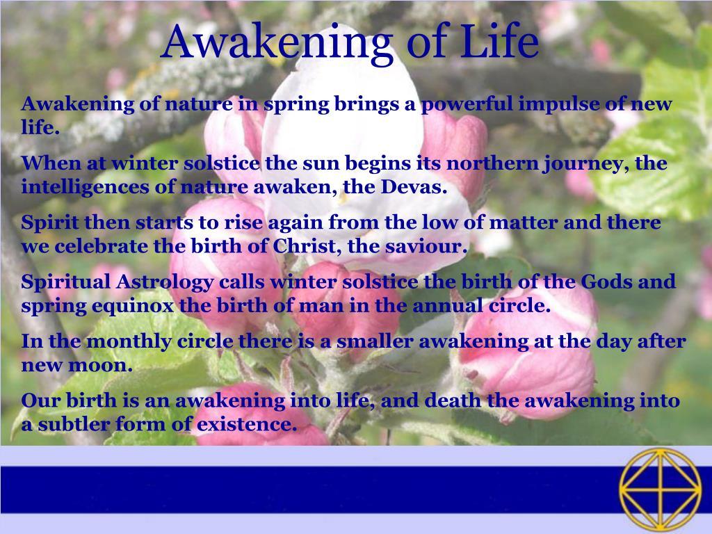 Awakening of Life