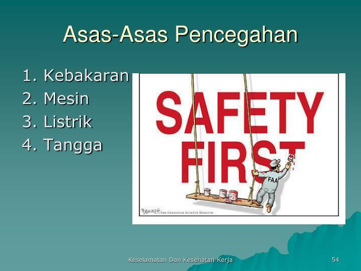 Asas-Asas Pencegahan