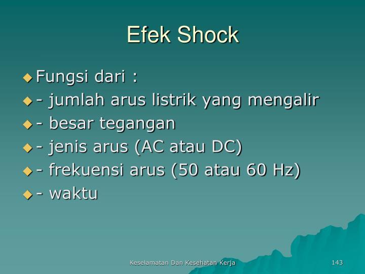 Efek Shock
