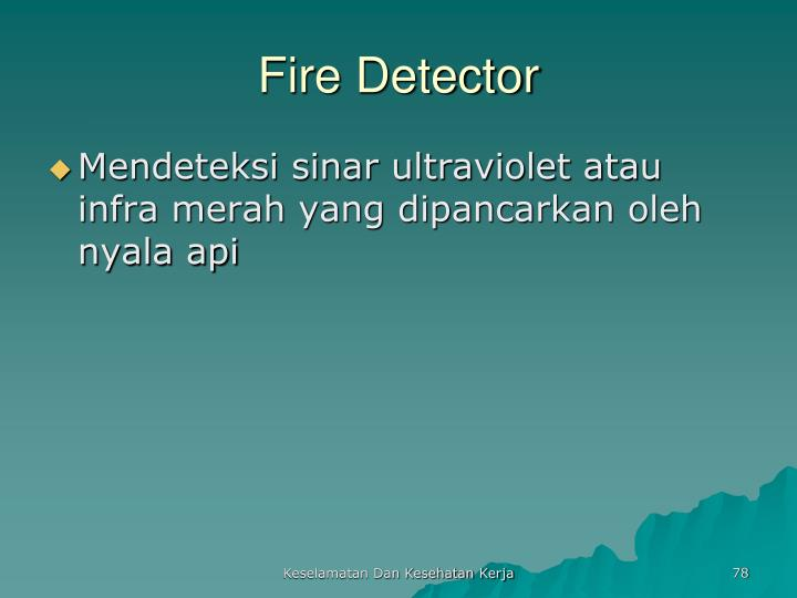 Fire Detector