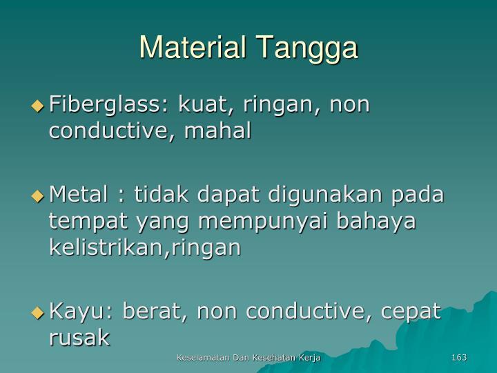 Material Tangga