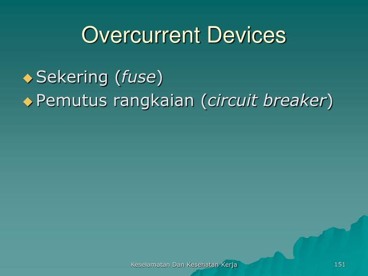 Overcurrent Devices