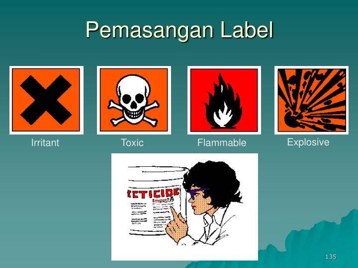 Pemasangan Label