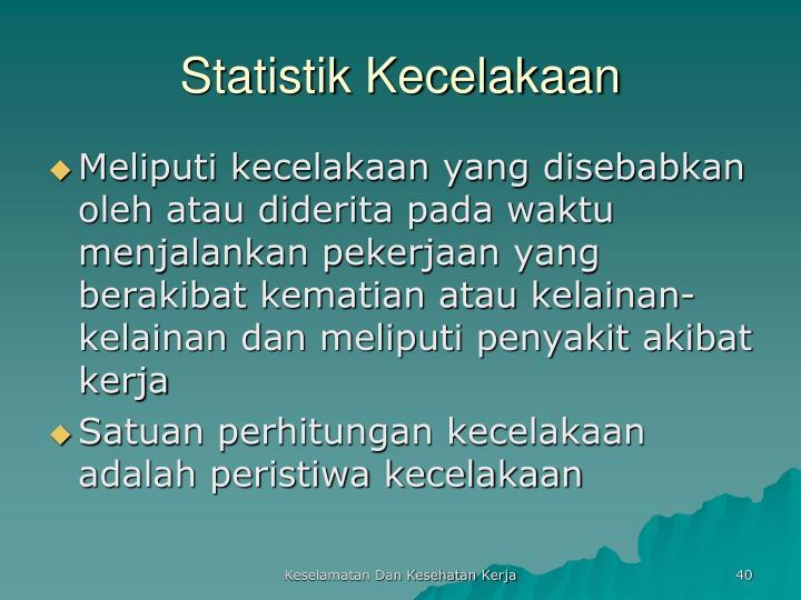 Statistik Kecelakaan