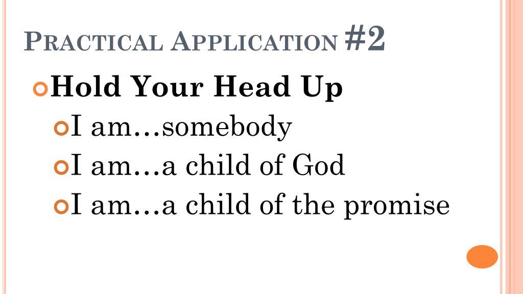Practical Application