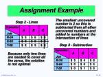 assignment example1