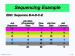 sequencing example5