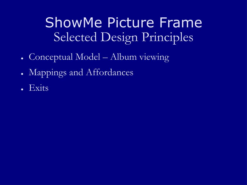 ShowMe Picture Frame