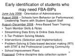 early identification of students who may need fba bips1
