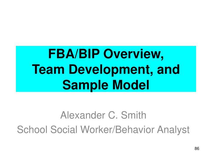 FBA/BIP Overview,