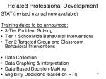 related professional development