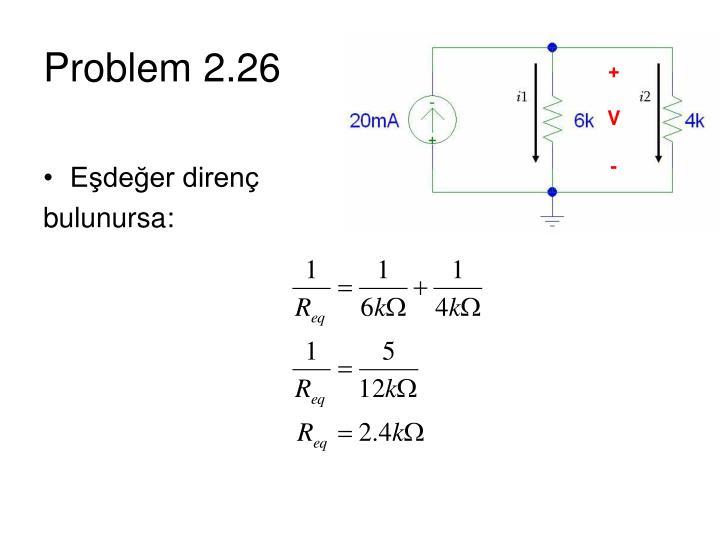 Problem 2.26